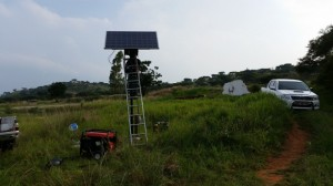 Solar System for a Borehole Pump on a Farm in Badplaas